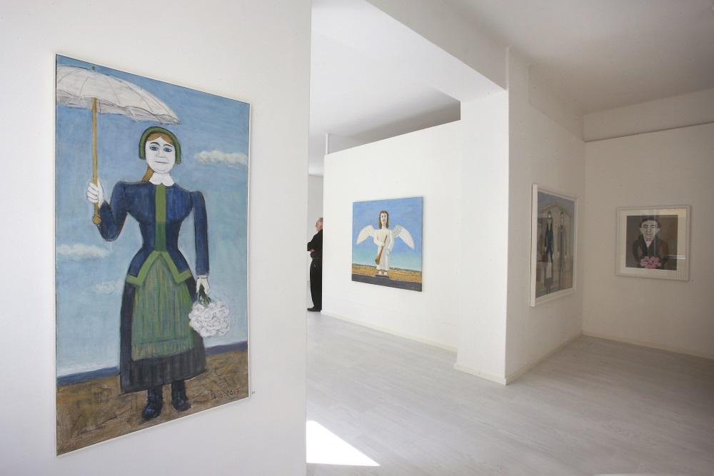 Galleria Albert IX sisäkuva