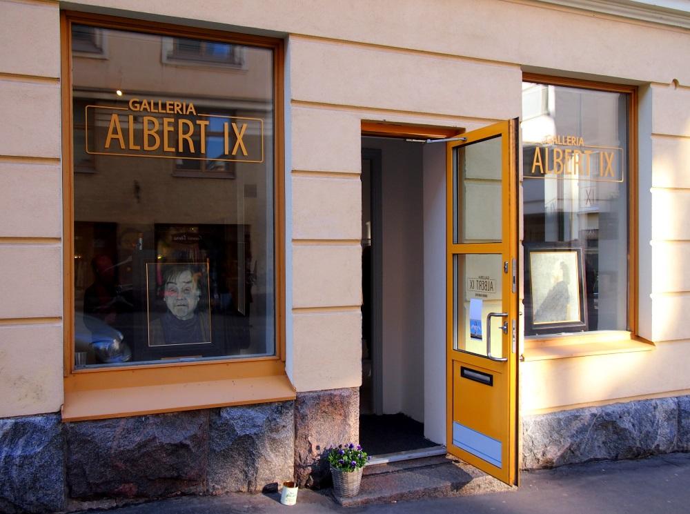 Galleria Albert IX ulko-ovi