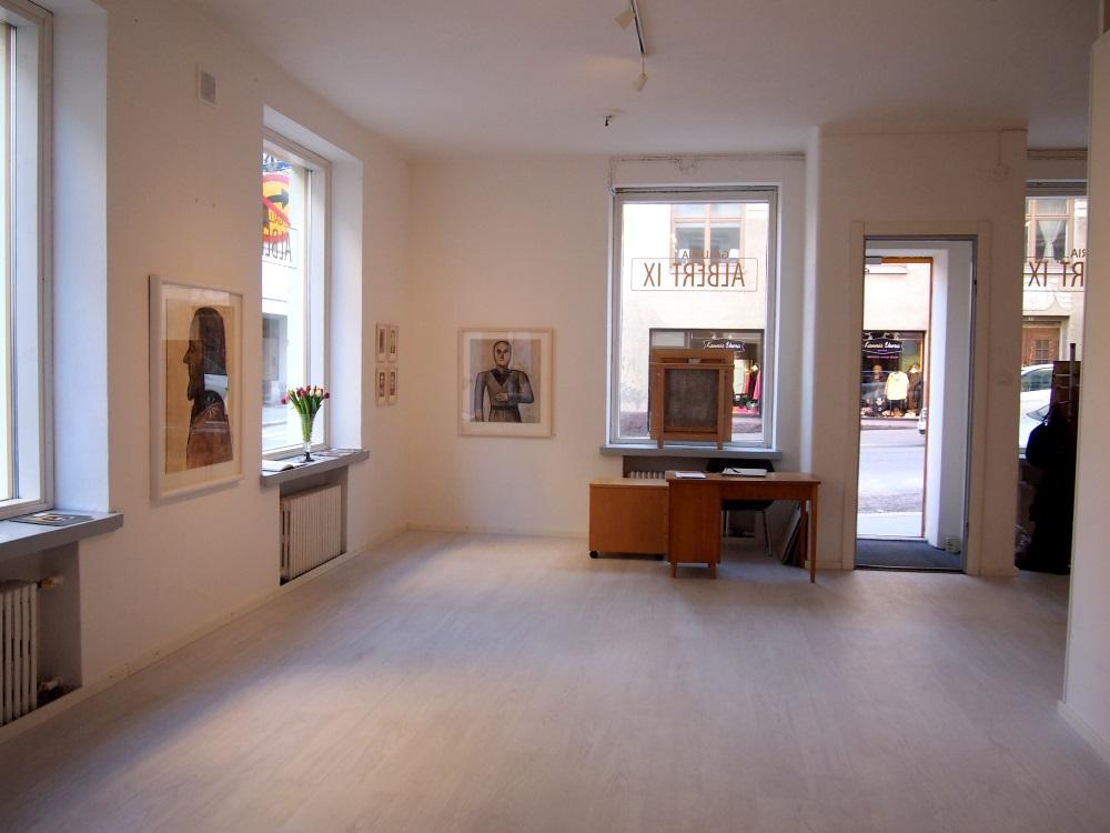 Galleria Albert IX sisätilat
